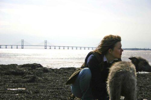 Ellie And Pippa At Aust Warth