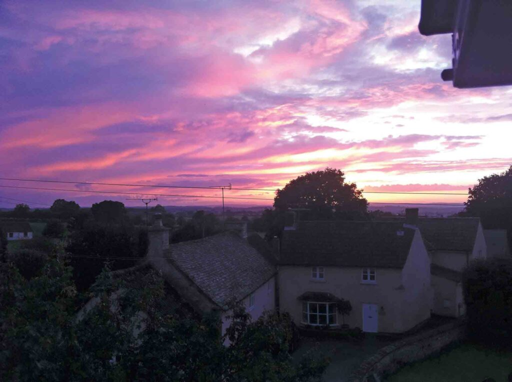 Hillesley Sunset