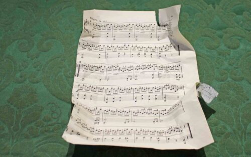 Unwrapped Sheet Music
